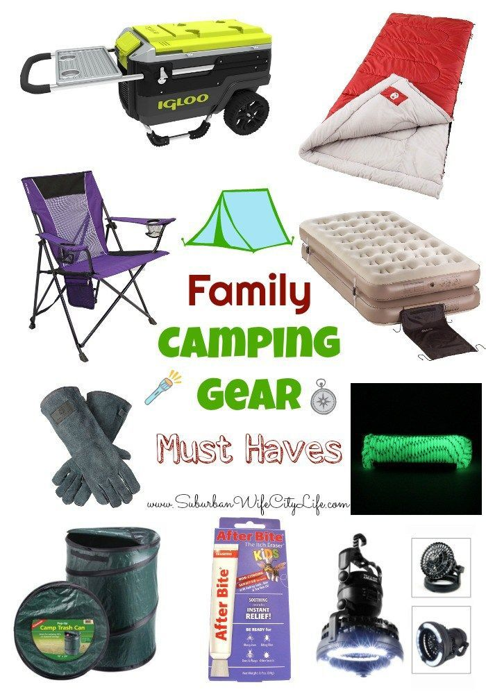 Photo of Camping equipment for families is a must