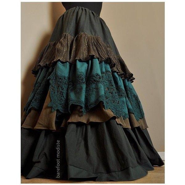 Plus Size Gypsy Skirts Uk