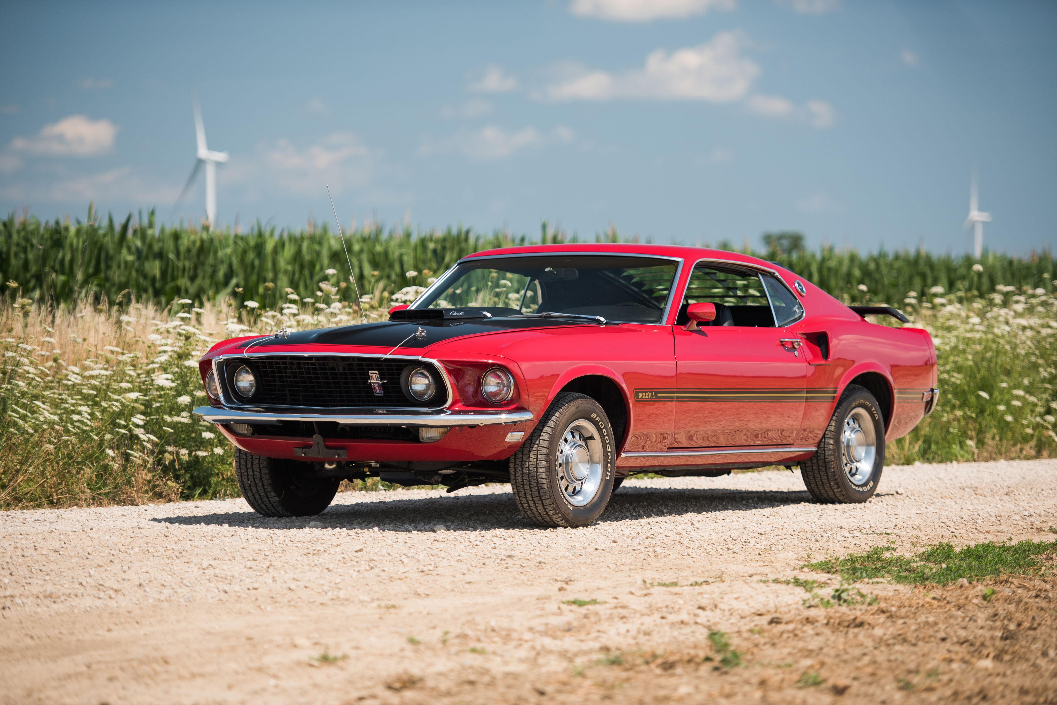 1969 Ford Mustang Mach 1 428 Super Cobra Jet 63c Ford Mustang Mustang Ford