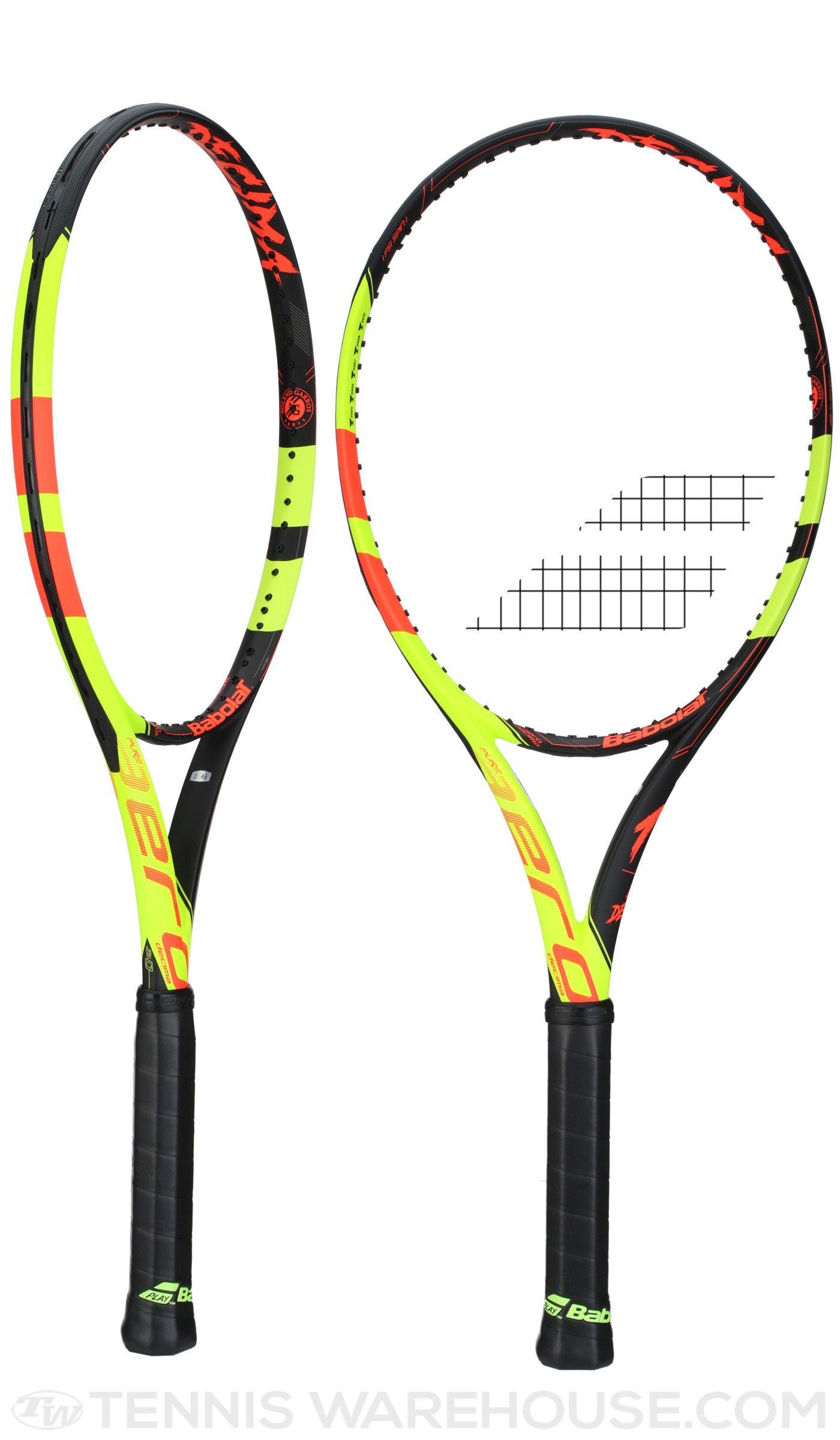 73a5a3e7371f Babolat Pure Aero La Decima French Open Racquets- Now Available for  presale!  tennis  Babolat  PureAero  LaDecima