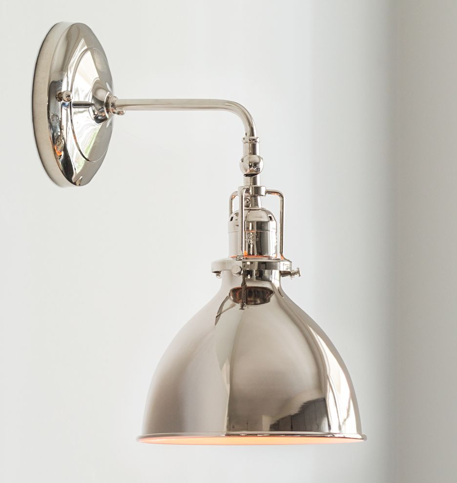 Rejuvenation grandview single sconce wall sconces industrial and