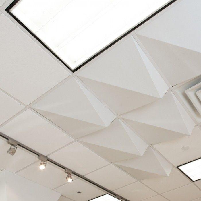 Module R Mio Foldscape Peak Ceiling Tiles Walls Floors