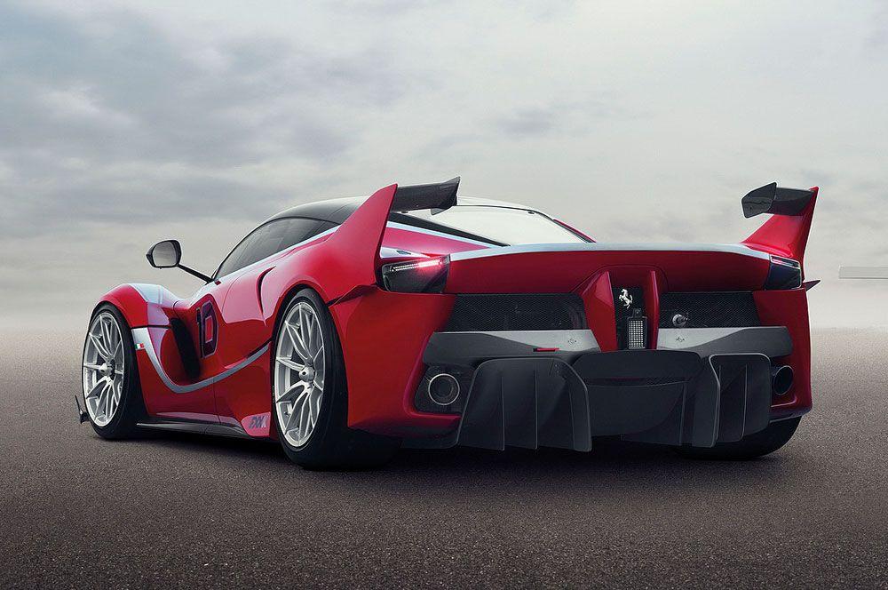 Review Ferrari FXX K 2015 Release Rear Side View Model · Top 10 Sports ...