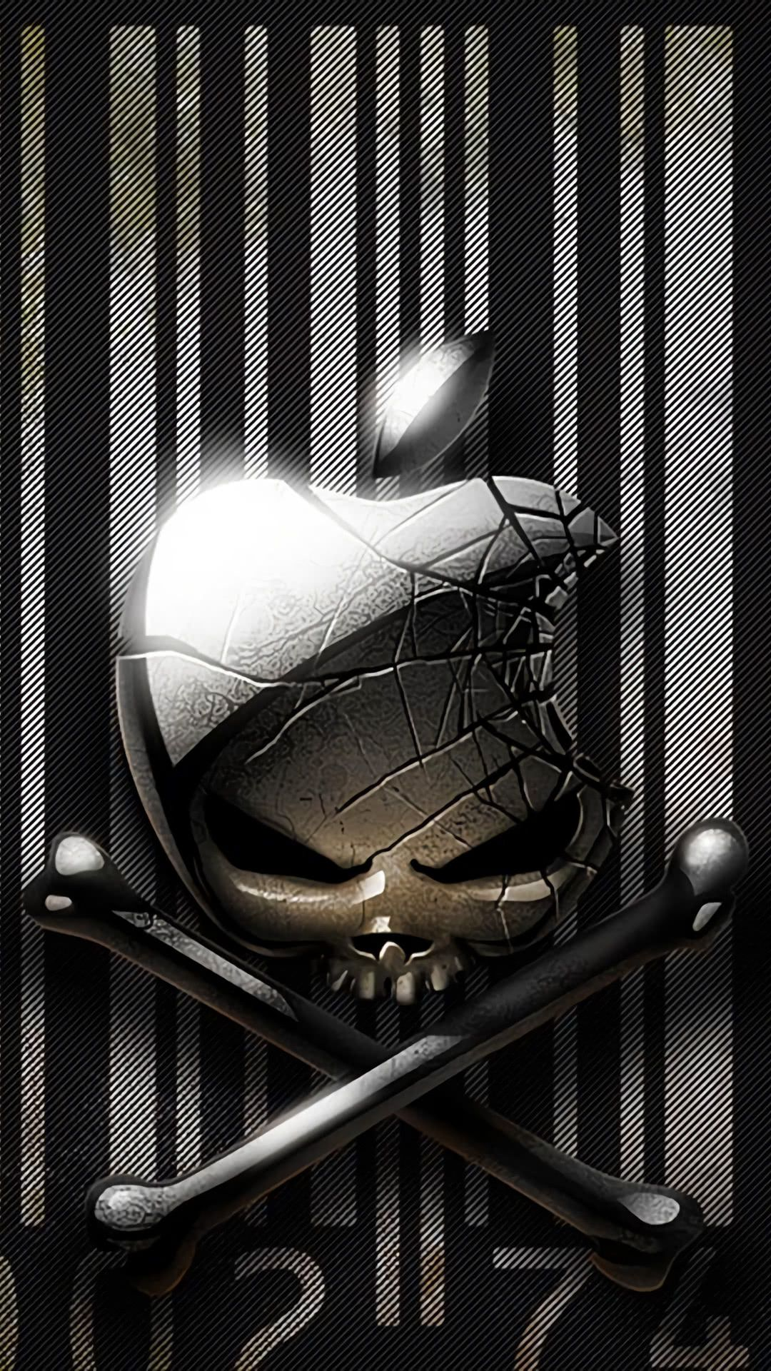 Mysterious iPhone wallpaper