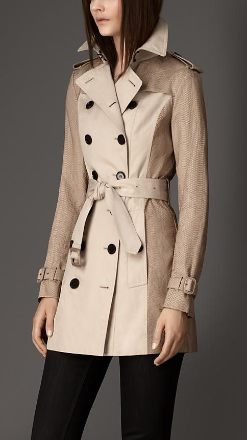 Slim Fit Gabardine Snakeskin Trench Coat Burberry Trench Coats Women Trench Coat Burberry Trench Coat Explore designer trench coats & raincoats today at farfetch. pinterest