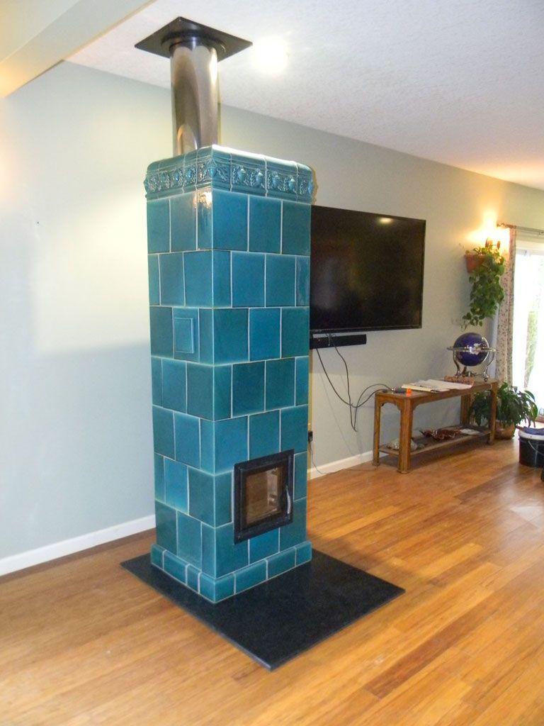 Kachelofen Tile Stove By Andrew Grzadziel Masonry