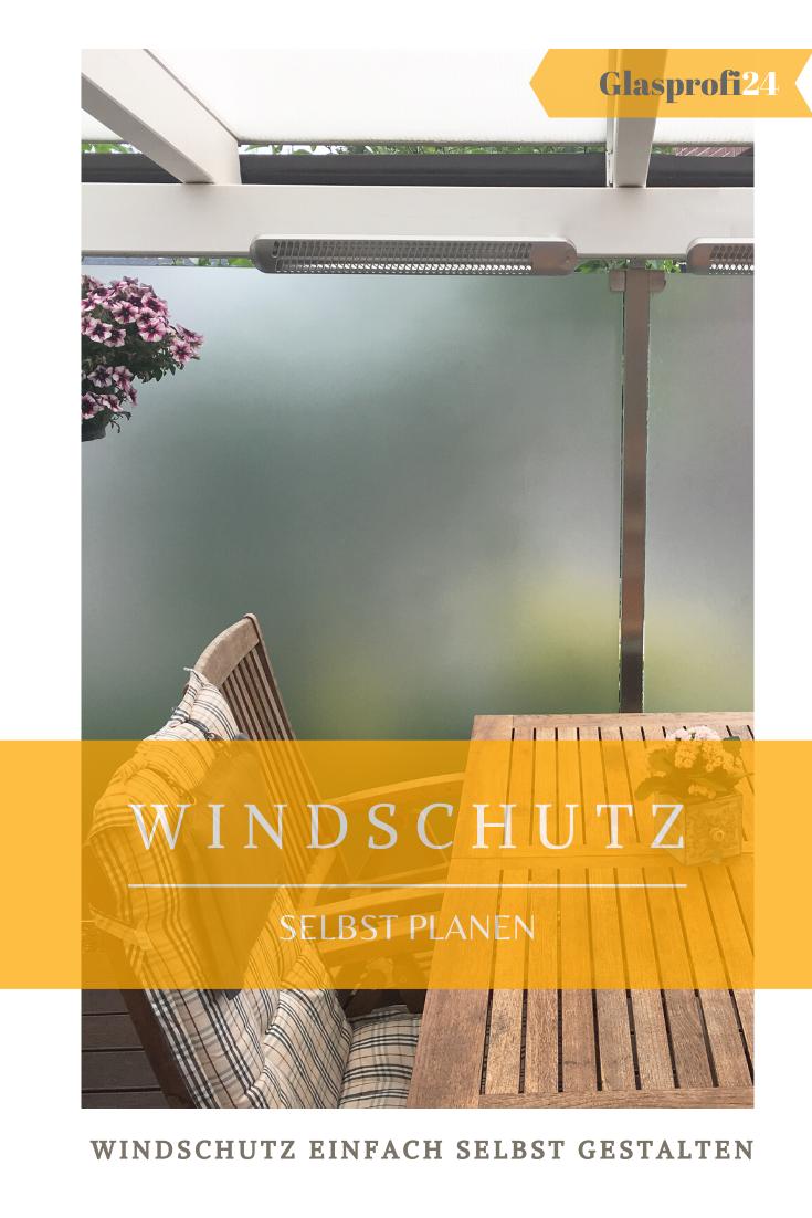 moderner Windschutz