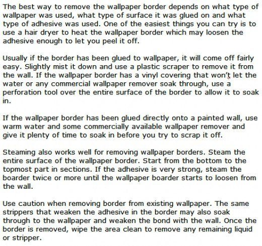 Best Way To Remove Wallpaper Glue Paste Residue And Borders