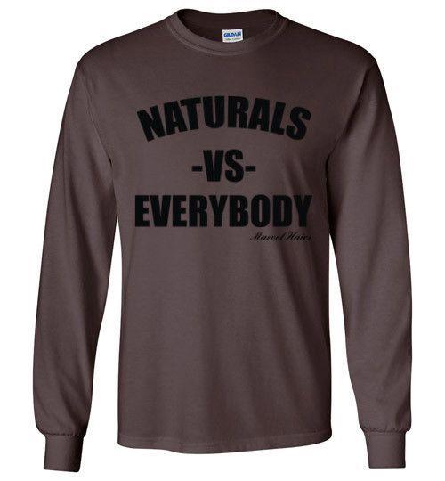 Naturals vs Everybody Long Sleeve T-Shirt