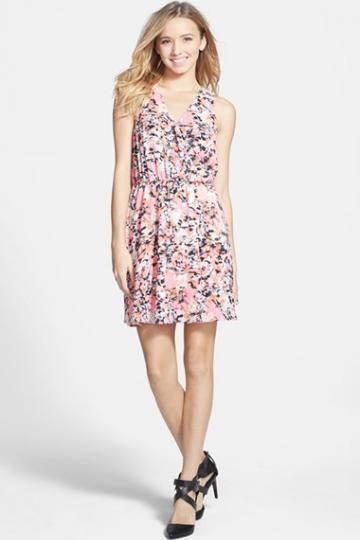 Lush 'Kylie' Print Skater Dress $ 27.60