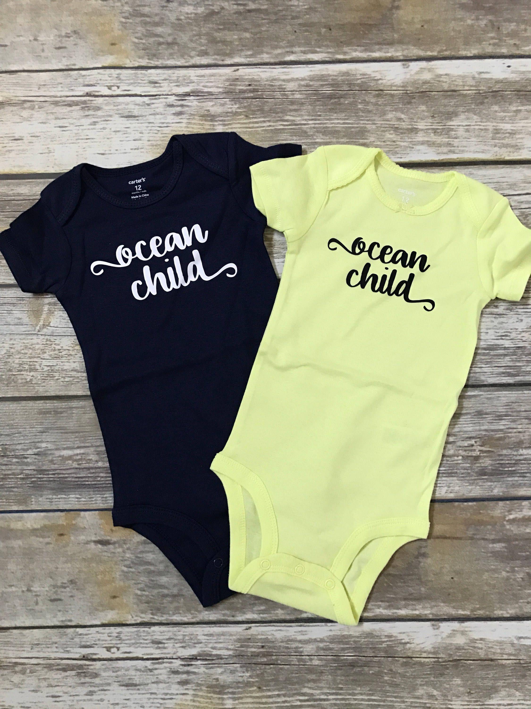 Ocean Child baby summer bodysuit