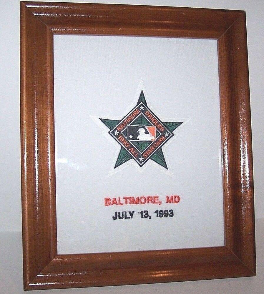Baltimore Orioles Baseball MLB Authentic Logo All Star