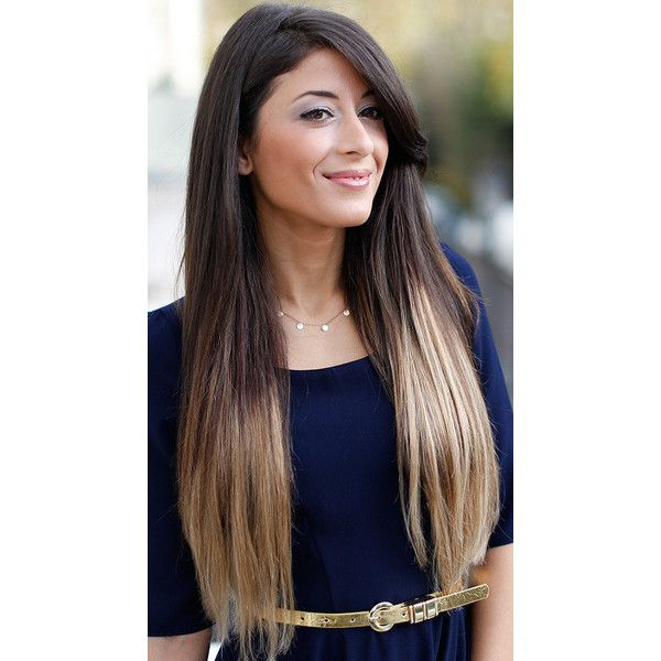 Ombre Darkest Brown To Dirty Blonde Human Hair Extensions24 Clip