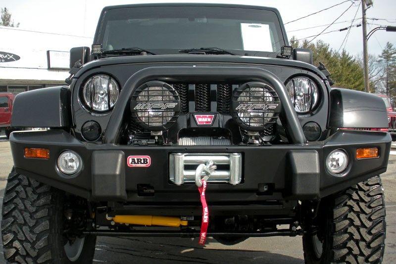 Arb 3450220 Front Bumper Wrangler Jk Black Jpg 800 533 Jeep