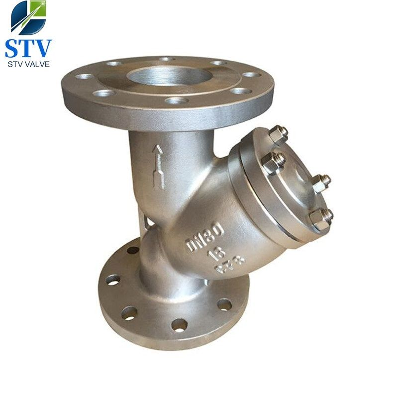 316 Stainless Steel Ansi 150 Flanged Y Strainer Flanged Y Type Strainer Stainless Steel Y Strainer Flanged Pn Strainers Stainless Steel 316 Stainless Steel