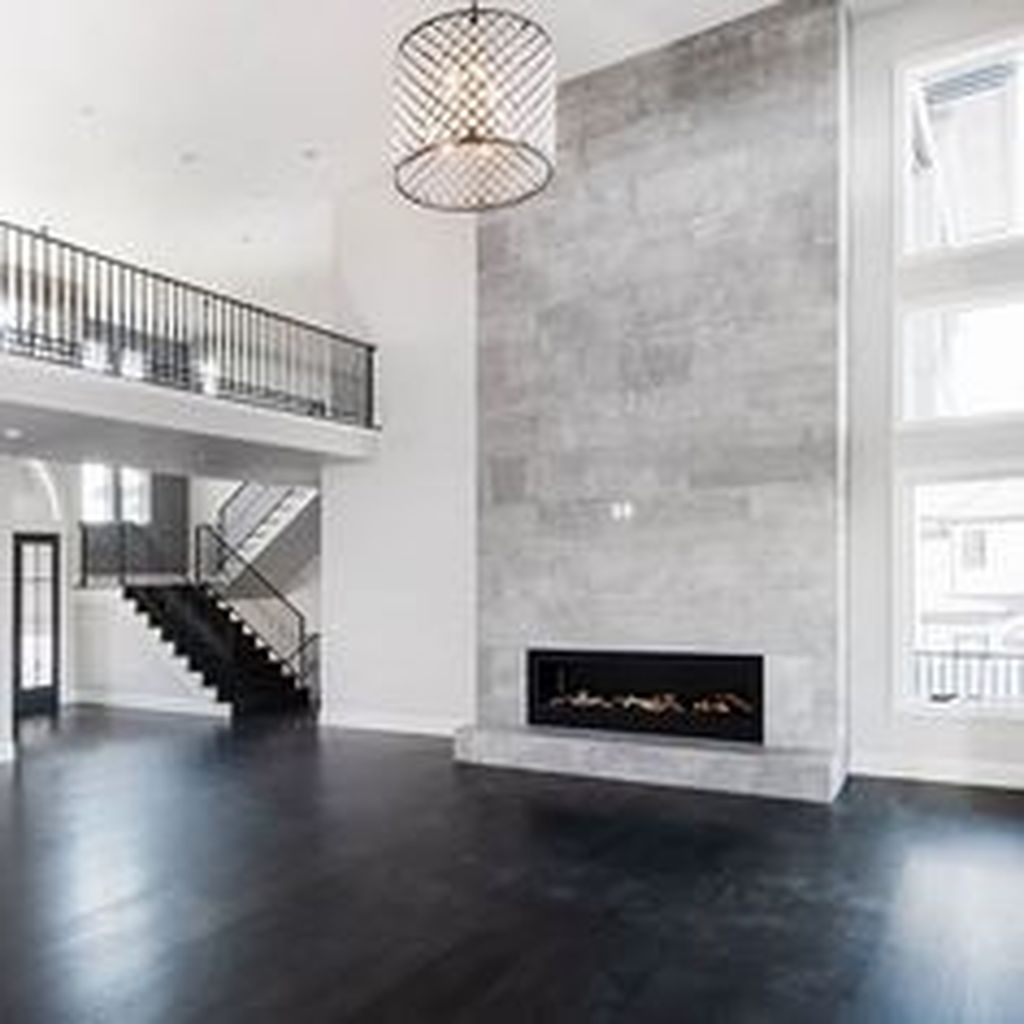 24++ Floor to ceiling fireplace tile ideas info