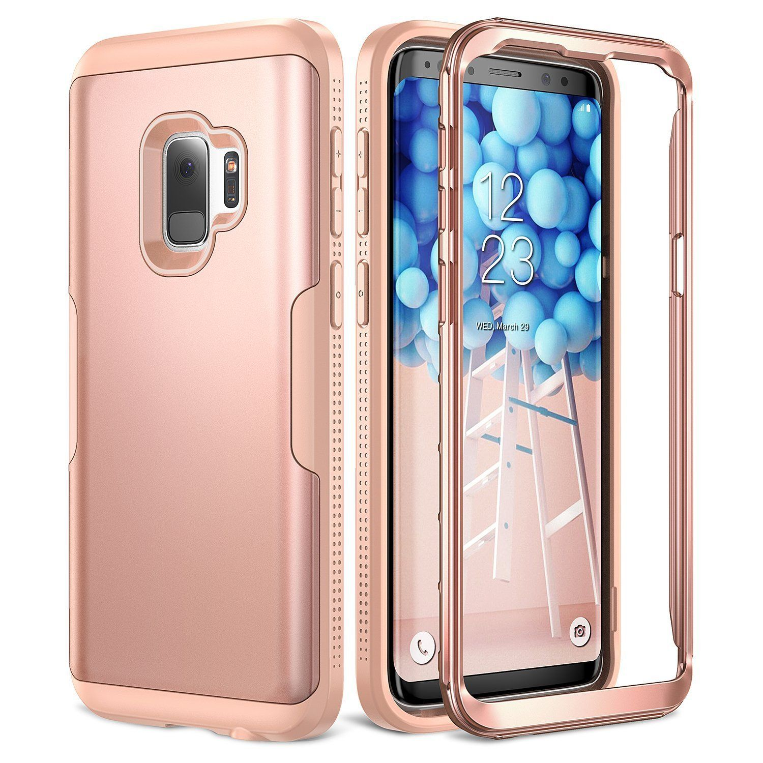 1e9d921c66b Youmaker 360 Protection Phone Case For Samsung Galaxy S9 Plus Free Shipping