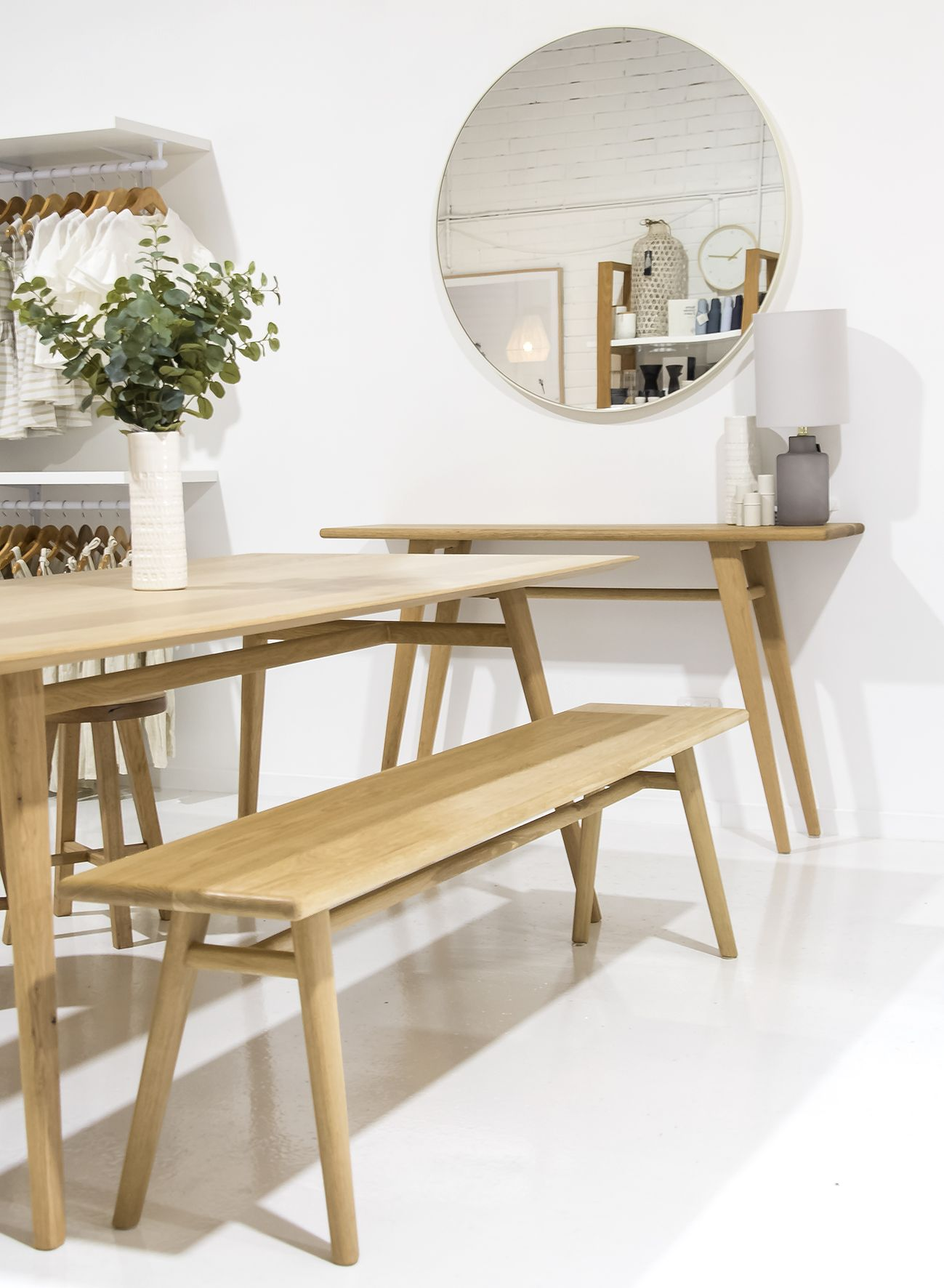 Austin Bench Seat Dining Table Furniture Dining