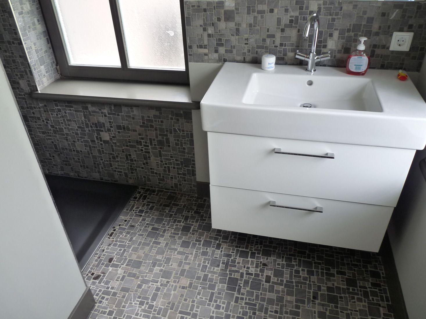 Rivestimento Bagno Finto Mosaico : Piastrelle bagno effetto ...