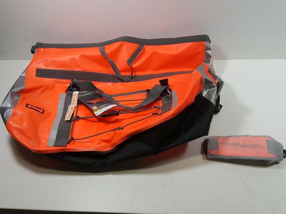 be7826cb3d OverBoard Waterproof Pro-Vis Duffel Bag Orange 60-Liter OB1149HVO (eBay  Link)