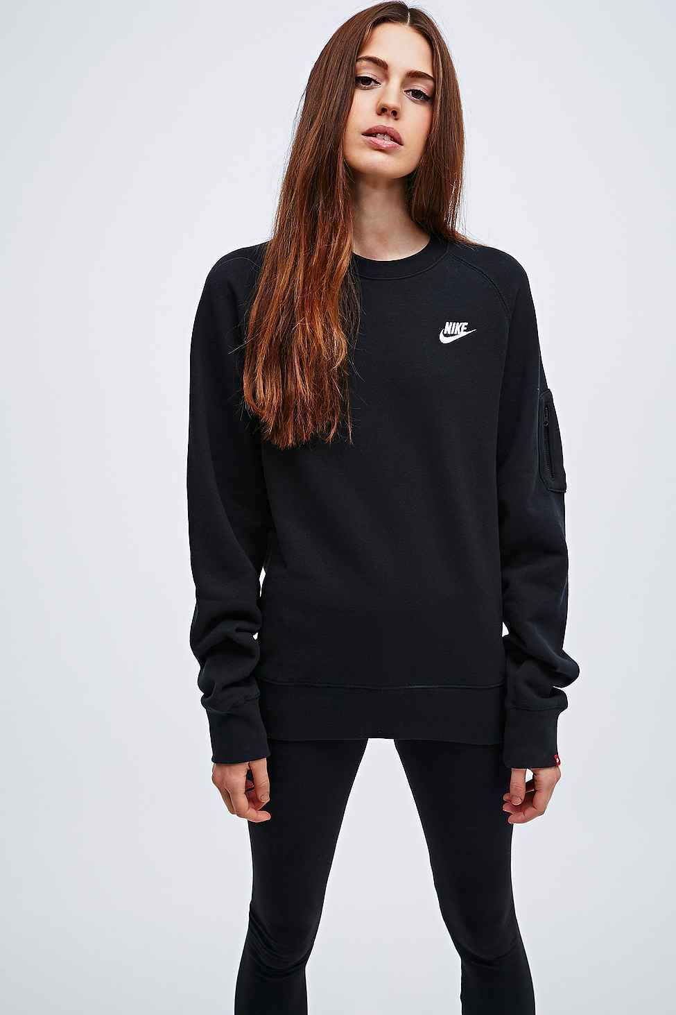 Crew Nike Neck Et Femme In Black Mode Pull Wishlist Sweatshirt 1ddrwz5q