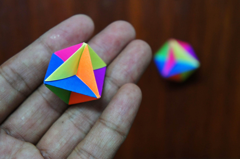 modular origami how to make modular spinner origami falten. Black Bedroom Furniture Sets. Home Design Ideas
