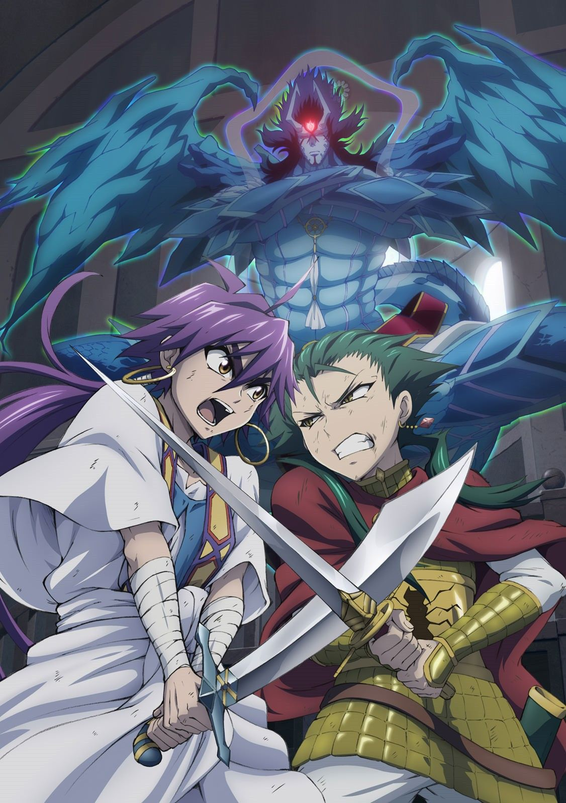 Pin by Art on Magi Sinbad magi, Anime magi, Magi