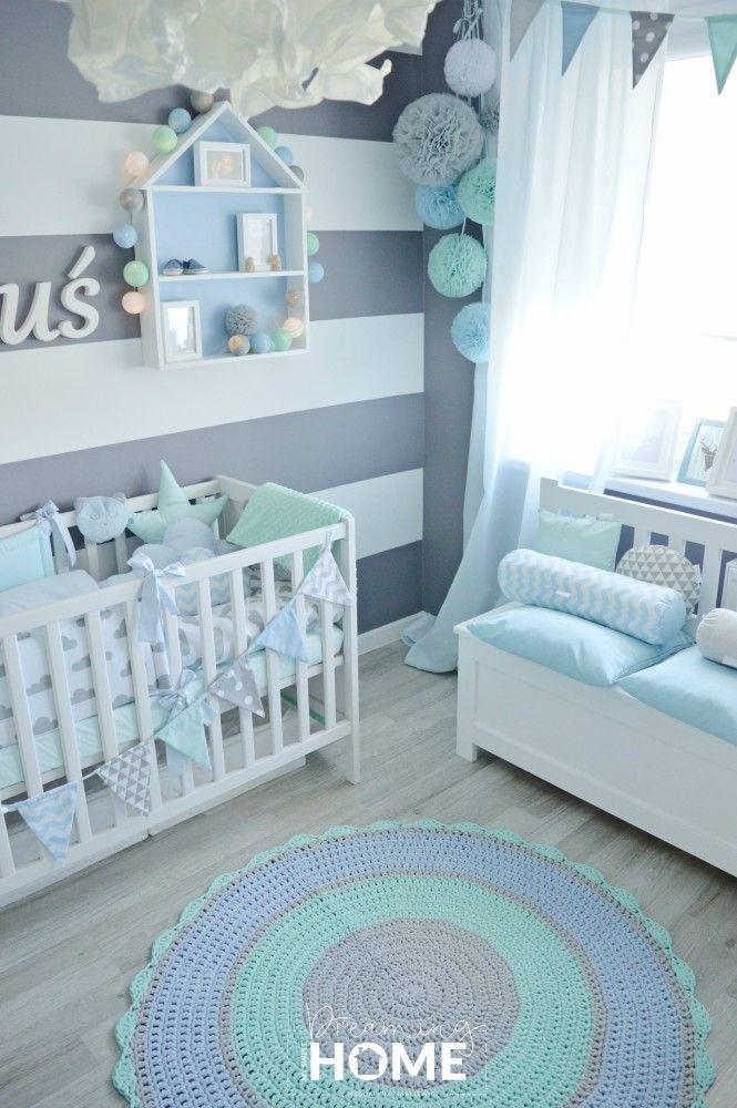 Kolory do pokoju dziecięcego. Nasze inspiracje – Wandgestaltung Kinderzimmer