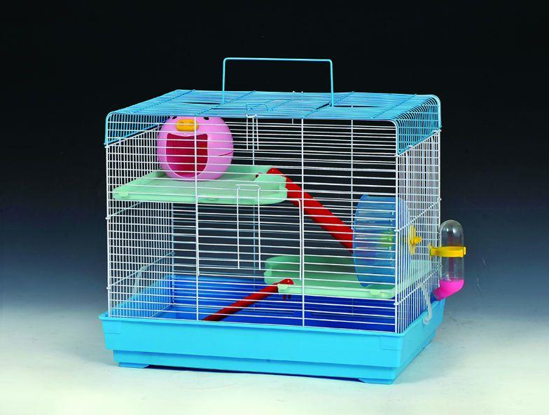 Hamster Cage With Color Box Size 46x29x37cm Qty Ctn 4 Pc Ctn Moq 500pcs Factory Manufacture Hamster Cage Pet Cage Color Box