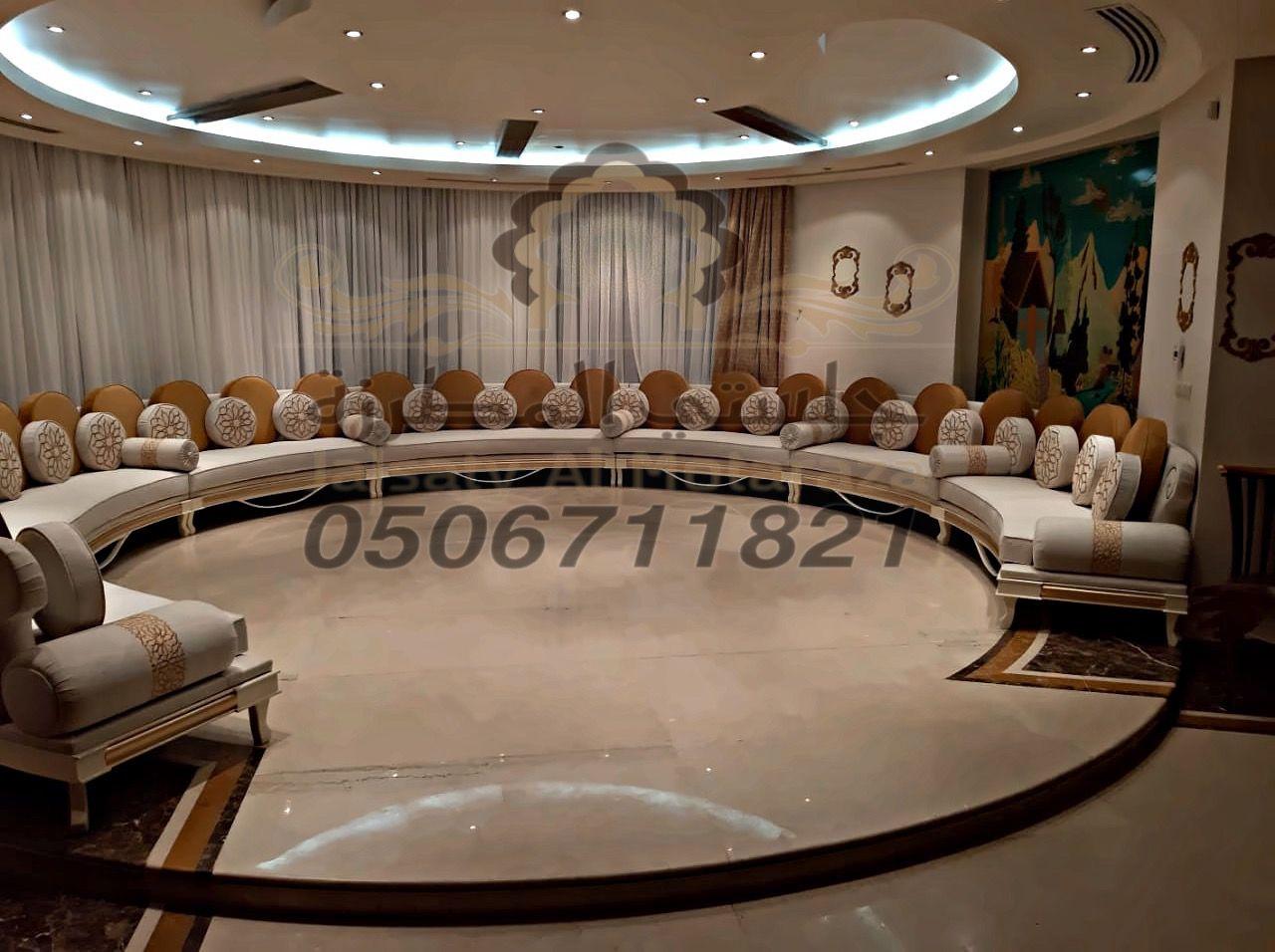 مجلس مغربي دائري جديد روعة جوال التواصل 0506711821 Instagram