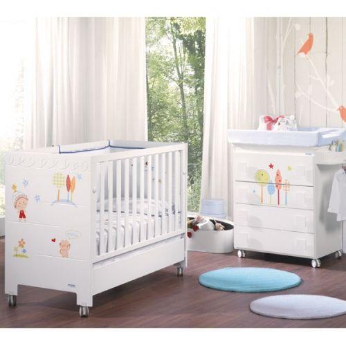 Habitación de Bebé Micuna Ambiente duende colección. Muebles y ...