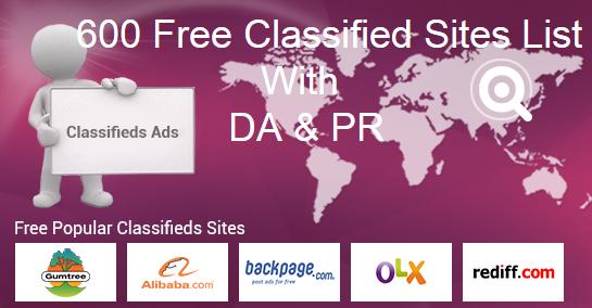 Resume Posting Sites Amusing Top Free Classified Sites List For Quick Ad Posting 600 Top Free .