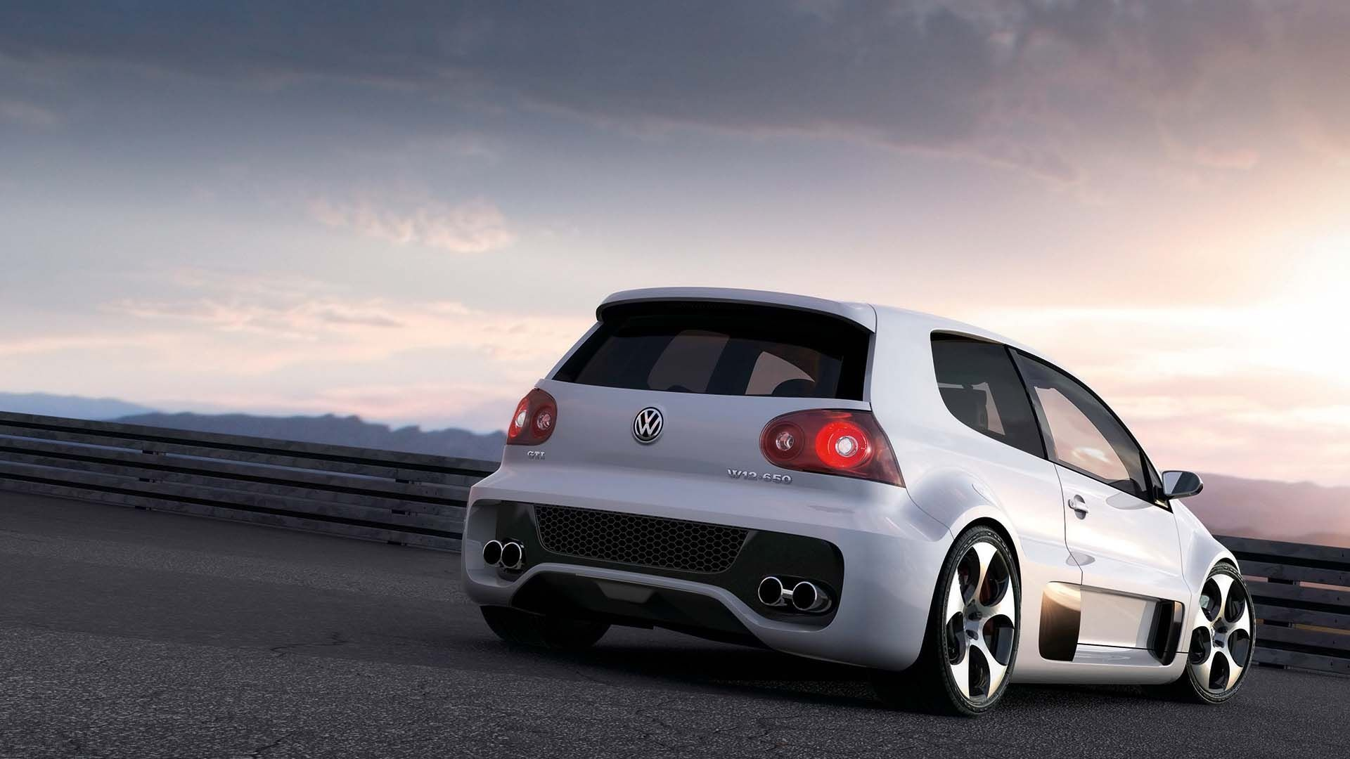 Attirant Amazing Volkswagen Golf GTI Back Side Picture Wallpaper