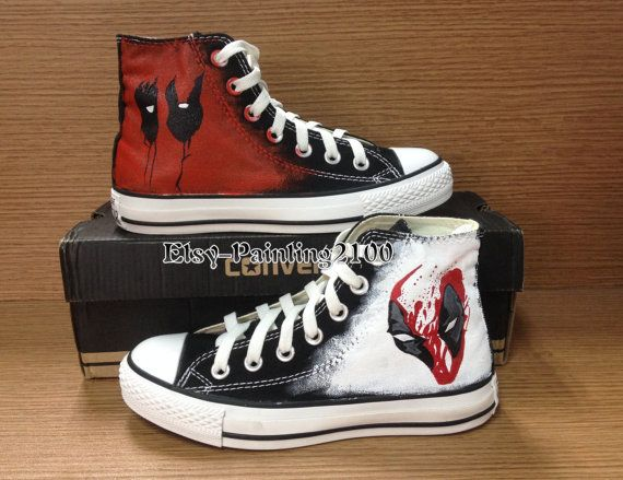 Punisher Converse Shoes