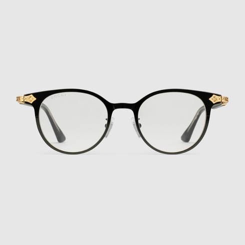 6b3664a6a71 GUCCI Round-frame glasses.  gucci  men s sunglasses