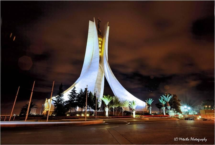 Maqam Echahid Martyrs Memorial Algiers Algeria Beautiful