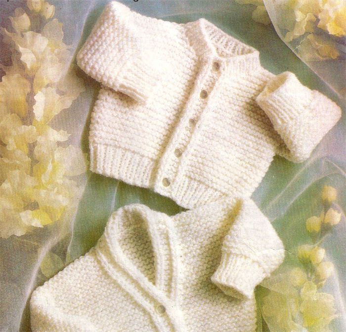 Premature Baby Cardigan Knitting Pattern In Dk Easy Knit Baby