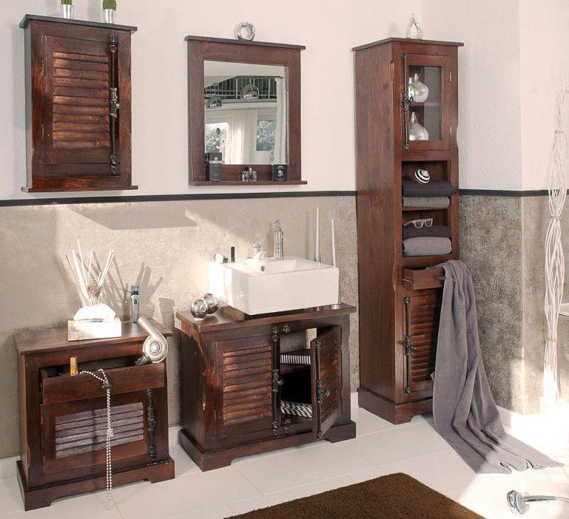 Badezimmer Shutter Im Kolonialstil 5 Teilig 0 Versand Badezimmer Zimmer Hochschrank