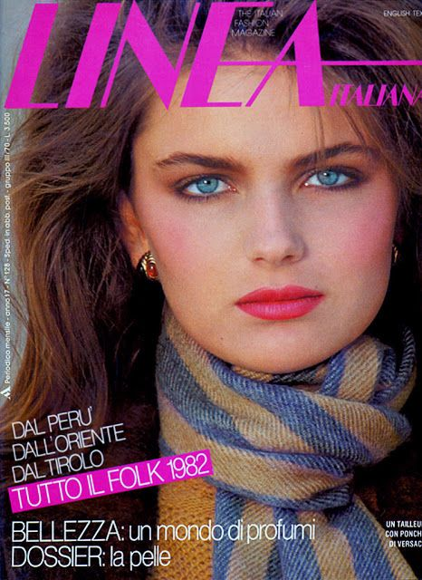 Top Models of the World.com: Paulina Porizkova Ads