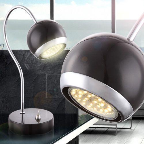Retro-LED-Tisch-Schlafzimmer-Nachttisch-Lampe-Leselampe-warmweiss ...