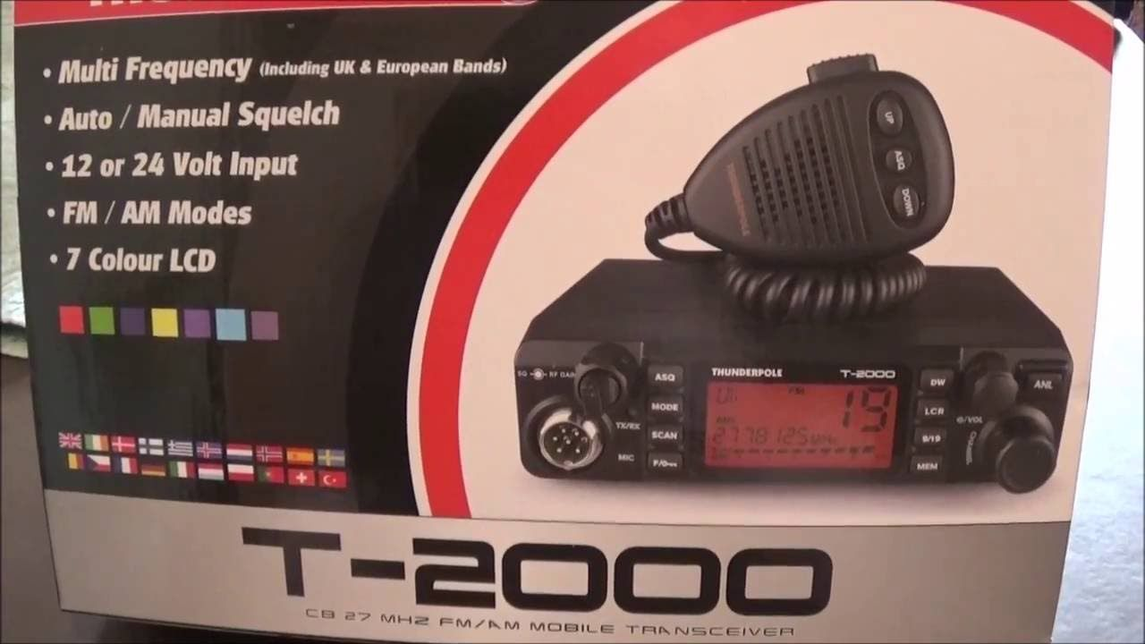 THUNDERPOLE T-2000 CB Radio Electronics & Photo Radio ...