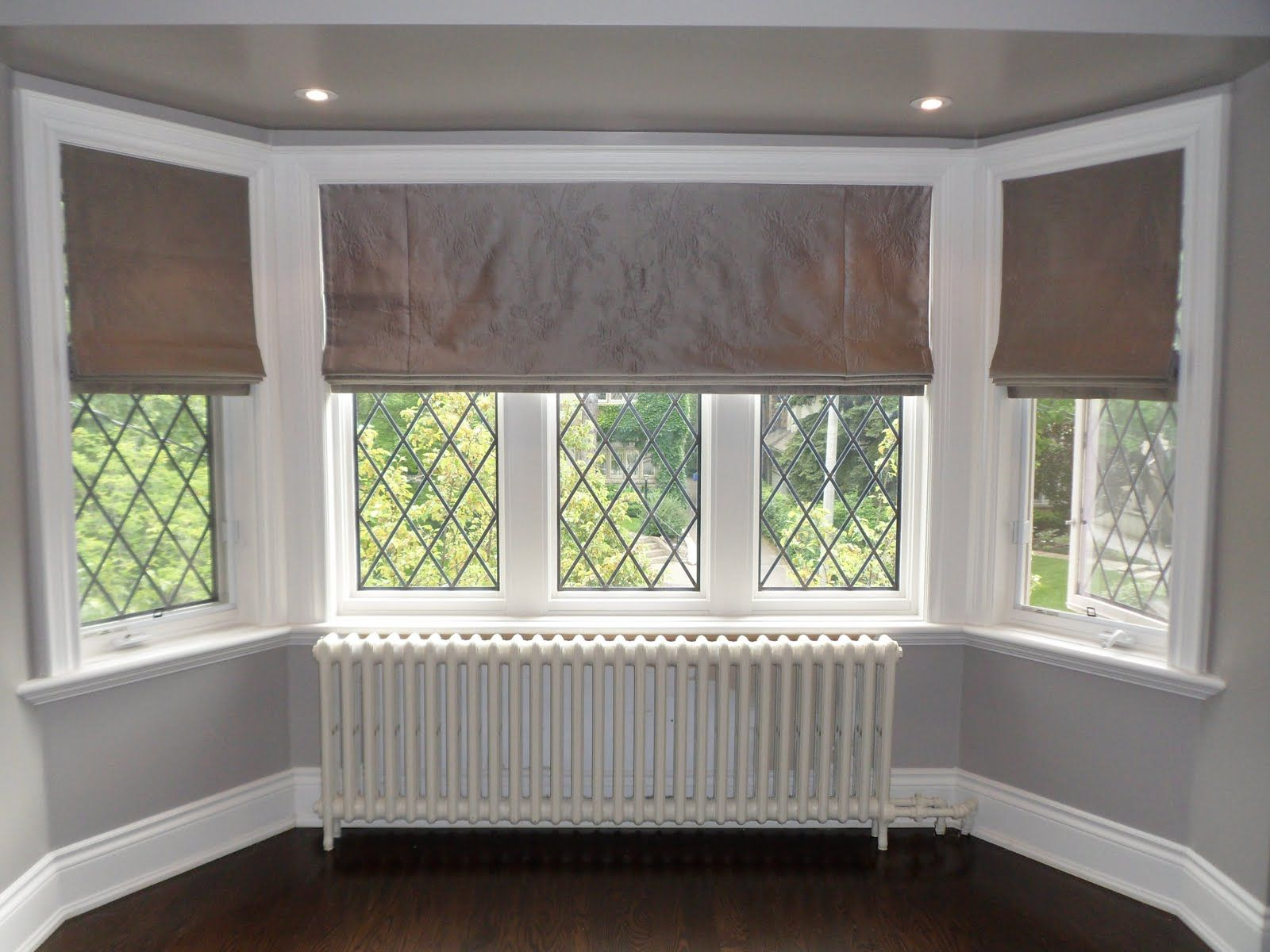 Cottage Style Window Coverings Roman Blinds Allow The
