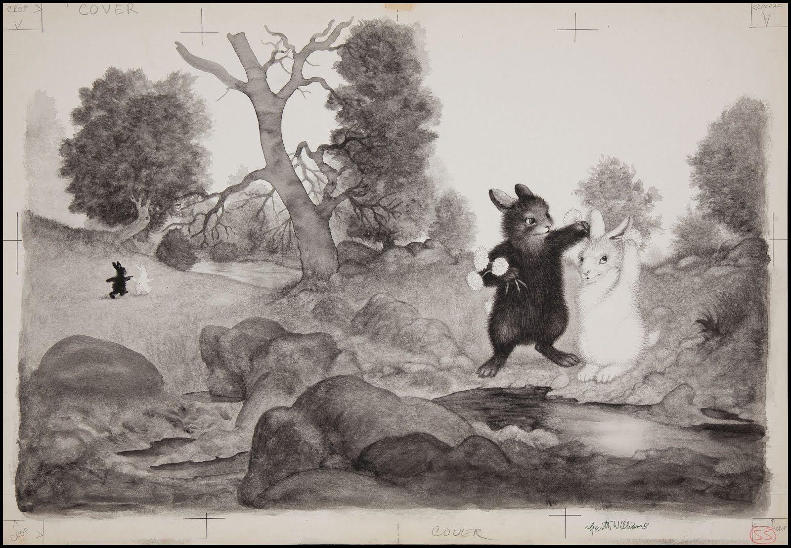 The Rabbits' Wedding by Garth Williams