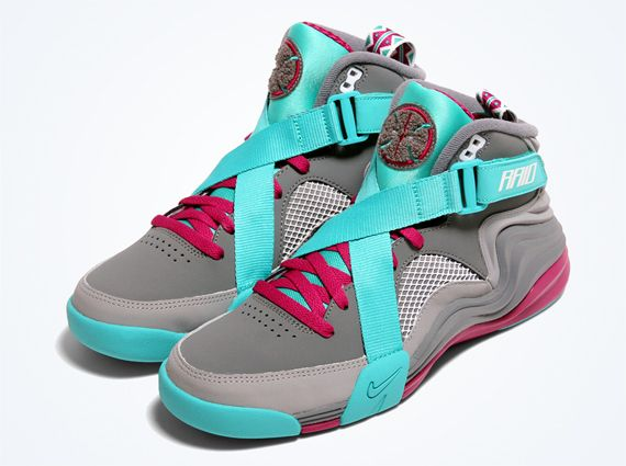 Nike Air Raid - Cool Grey | This Raid have a distinct South Beach flavour to