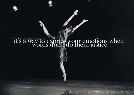 Pin By Ballet In The City On Ballet And Beyond Dance Quotes Salsa Dance Lessons Dance Instruction