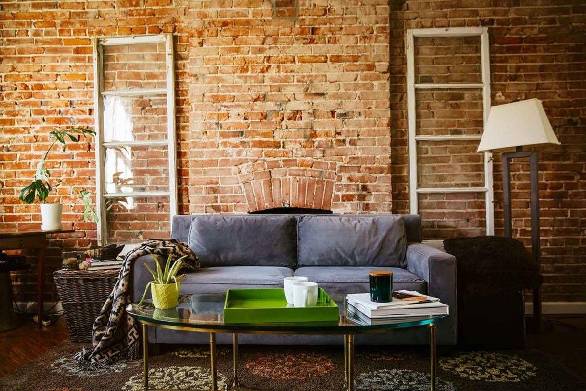 7 Brilliant Red Brick Living Room Wall Ideas Livingroomdecor Livingroomdesign Livingroomi In 2020 Brick Interior Wall Brick Interior Movie Prints