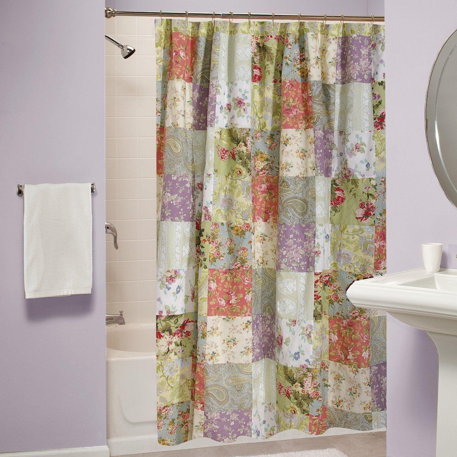 Blooming Prairie Shower Curtain Gl 0809cshw Cotton Shower