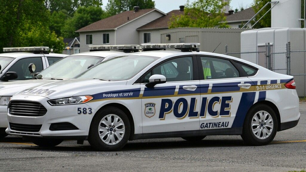 Ford Fusion Police Vehicle