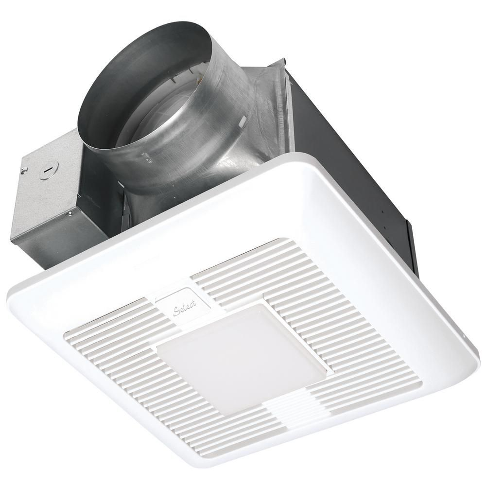 Panasonic Whispergreen Select Pick A Flow 110 130 150 Cfm Exhaust Fan Led Light Flex Z Fast Install Bracket 6 In Duct Adapter White Fans For Sale Led 1w Led