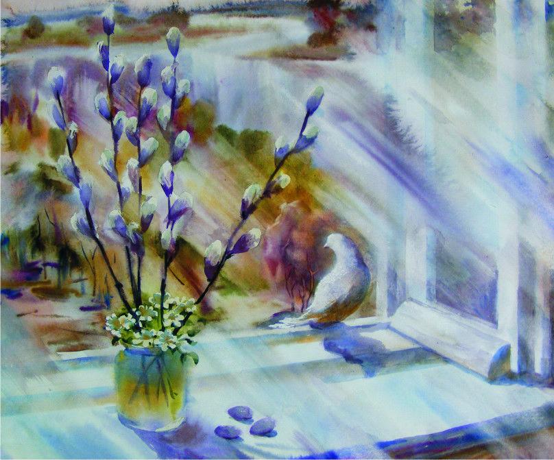 весна верба живопись выделить отдельную категорию